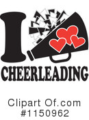 Cheerleading Clipart #1150962 by Johnny Sajem