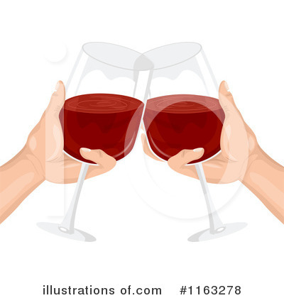 Cheers Clipart #1163278 by BNP Design Studio