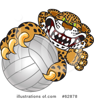 Cheetah Character Clipart #62878 by Toons4Biz
