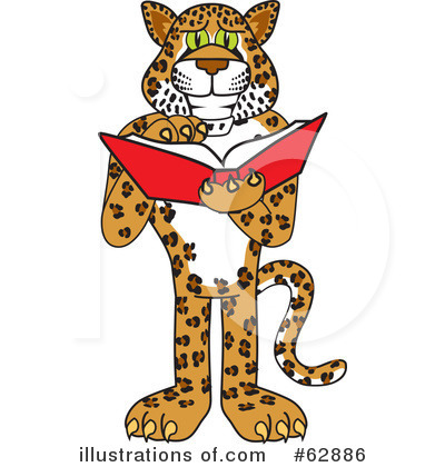 Cheetah Character Clipart #62886 by Toons4Biz