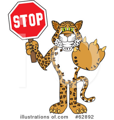 Cheetah Character Clipart #62892 by Toons4Biz
