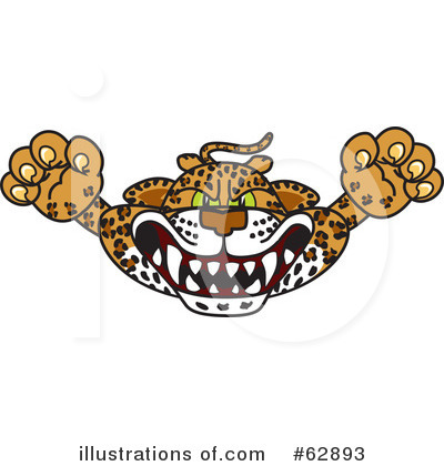 Cheetah Character Clipart #62893 by Toons4Biz