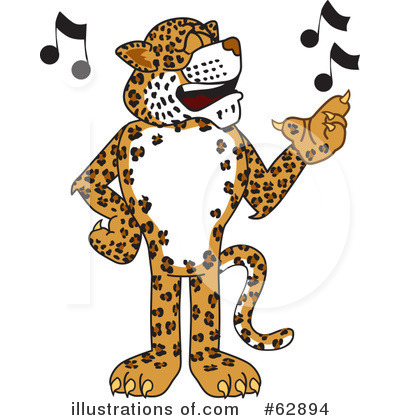 Cheetah Character Clipart #62894 by Toons4Biz