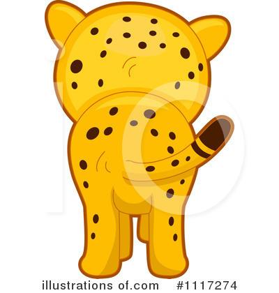 Cheetah Clipart #1117274 - Illustration by BNP Design Studio