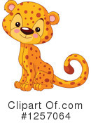 Cheetah Clipart #1257064 by Pushkin