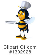 Chef Bee Clipart #1302928 by Julos