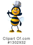 Chef Bee Clipart #1302932 by Julos