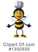 Chef Bee Clipart #1302933 by Julos