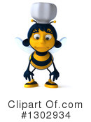 Chef Bee Clipart #1302934 by Julos