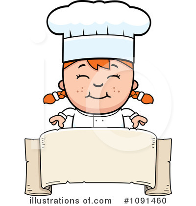 Chef Clipart #1091460 - Illustration by Cory Thoman