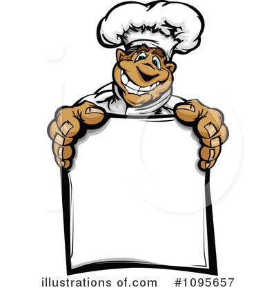 Chef Clipart #1095657 - Illustration by Chromaco