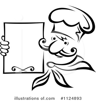 Chef Clipart #1124893 by Vector Tradition SM