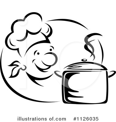 Chef Clipart #1126035 by Vector Tradition SM