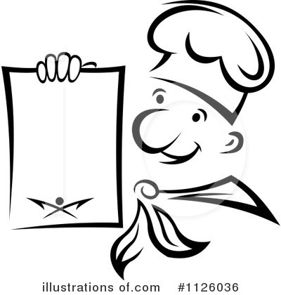 Chef Clipart #1126036 by Vector Tradition SM
