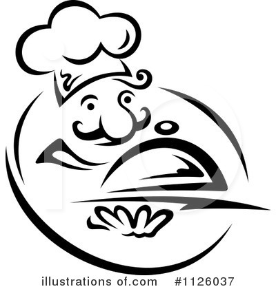 Chef Clipart #1126037 by Vector Tradition SM