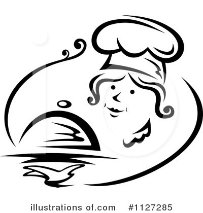 Chef Clipart #1127285 by Vector Tradition SM