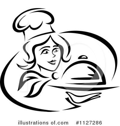 Chef Clipart #1127286 by Vector Tradition SM