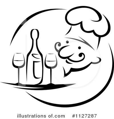 Chef Clipart #1127287 by Vector Tradition SM