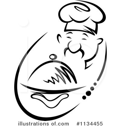 Chef Clipart #1134455 by Vector Tradition SM