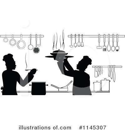 Chef Clipart #1145307 by Vector Tradition SM