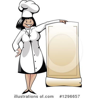 Chef Clipart #1296657 by Vector Tradition SM