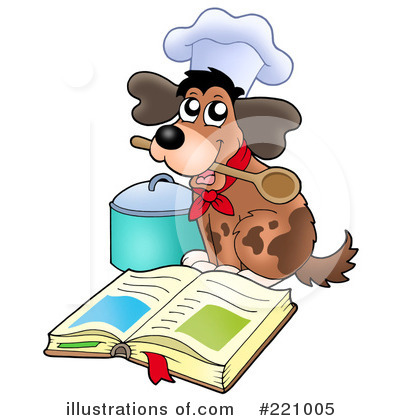 Cook Book Clipart #221005 by visekart