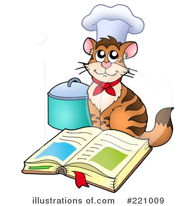 Cook Book Clipart #221009 by visekart
