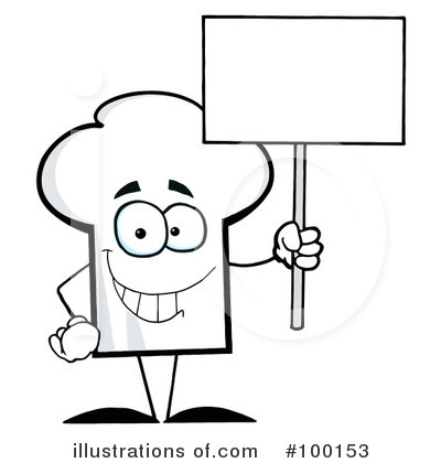 Chef Hat Clipart #100153 - Illustration by Hit Toon