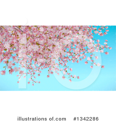 Blossoms Clipart #1342286 by KJ Pargeter
