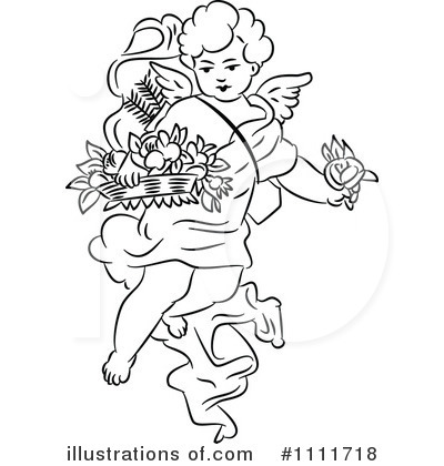 Cherub Clipart #1111718 - Illustration by Prawny Vintage