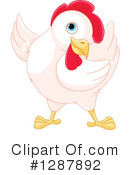 Chicken Clipart #1287892 by Pushkin