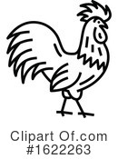 Chicken Clipart #1622263 by Vector Tradition SM