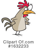 Chicken Clipart #1632233 by toonaday