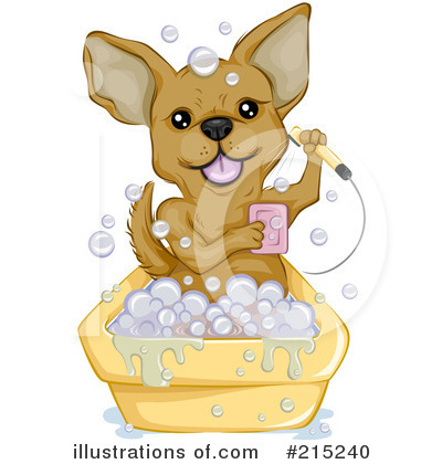 Chihuahua Clipart #215240 - Illustration by BNP Design Studio