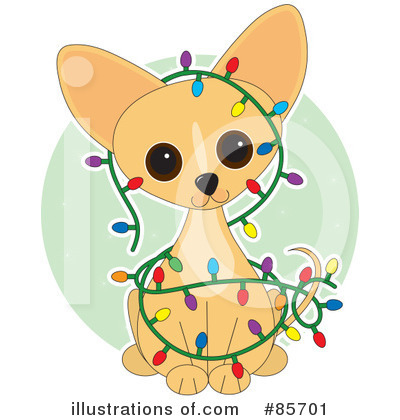 Chihuahua Clipart #85701 - Illustration by Maria Bell