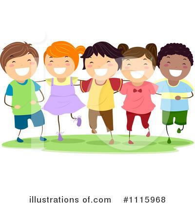 Children Clipart 1115968 Illustration By Bnp Design Studio