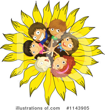 Sunflower Clipart #1143905 by Graphics RF
