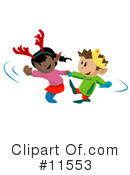 Children Clipart #11553 by AtStockIllustration