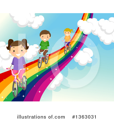 Bicycle Clipart #1363031 by BNP Design Studio