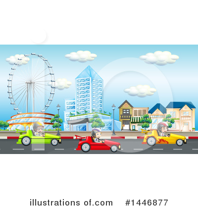 Urban Clipart #1446877 by Graphics RF