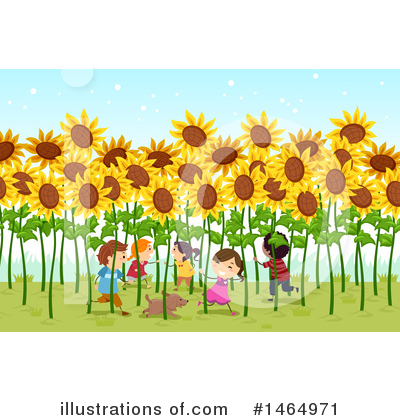 Sunflower Clipart #1464971 by BNP Design Studio