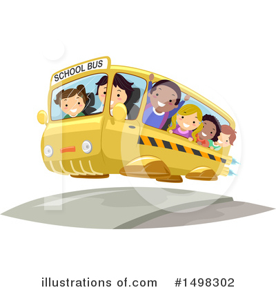 School Bus Clipart #1498302 by BNP Design Studio