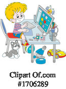 Children Clipart #1706289 by Alex Bannykh
