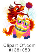 Chinese New Year Clipart #1381053 by BNP Design Studio