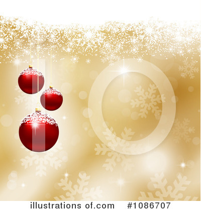 Christmas Background Clipart #1086707 by KJ Pargeter