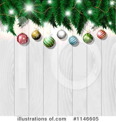 Christmas Tree Clipart #1146605 by KJ Pargeter