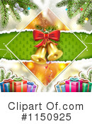 Christmas Background Clipart #1150925 by merlinul