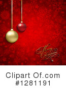 Christmas Background Clipart #1281191 by KJ Pargeter