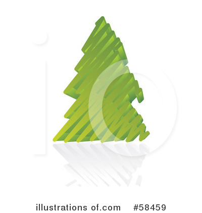 Christmas Tree Clipart #58459 by MilsiArt