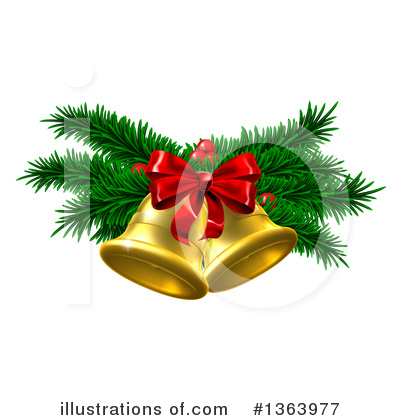 Christmas Bells Clipart.Christmas Bells Clipart 1053595 Illustration By Any Vector